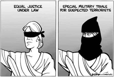 Suspension of habeas corpus examples